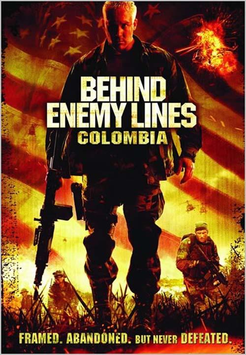Ienaidnieka aizmugurē 3: Kolumbija | Behind Enemy Lines: Colombia (2009)