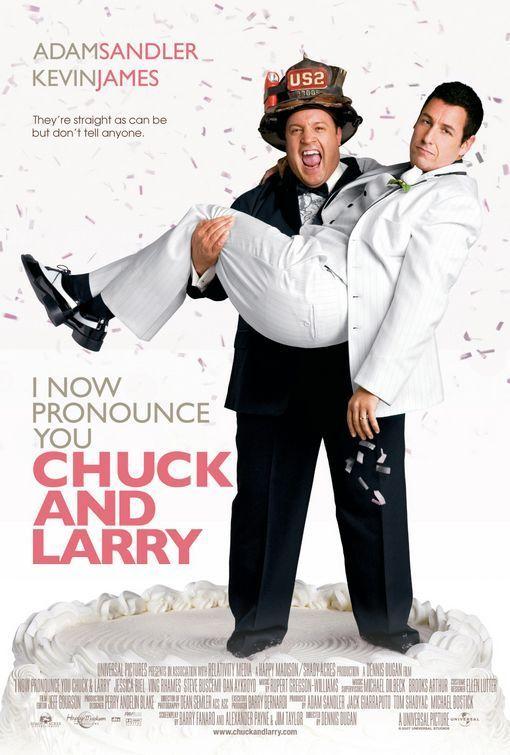 Pasludinu jūs par Čaku un Leriju / I now pronounce you Chuck and Larry (Lat / 2007)