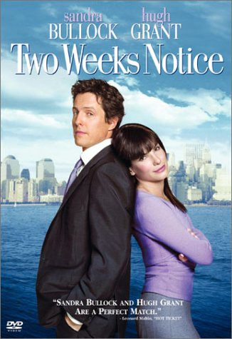 Divas nedēļas, lai iemīlētos / Two Weeks Notice 2002