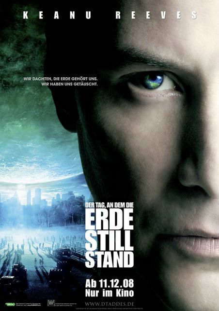 Diena, kad apstājās zeme / The Day the Earth Stood Still 2008