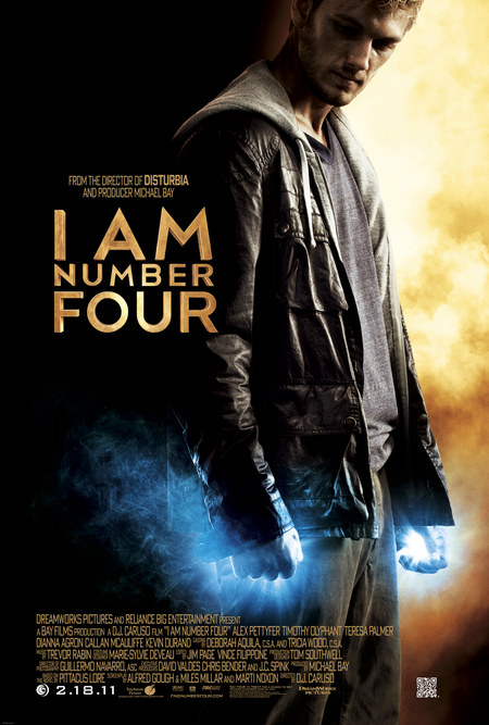 Es esmu ceturtais | I Am Number Four (2011) SUB